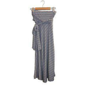 La Vie en Rose Aqua Strapless Coverup Dress